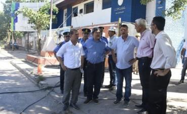 PEPPO DIO INICIO A LA RECONSTRUCCIÓN DE LA COMISARIA SEGUNDA DE RESISTENCIA