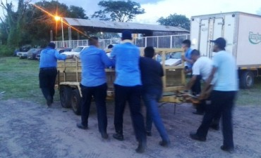 Tránsito: avanza el operativo de limpieza y ordenamiento del corralón municipal