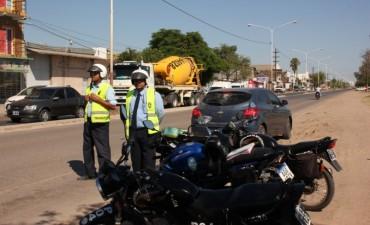 El municipio continúa con los controles de tránsito