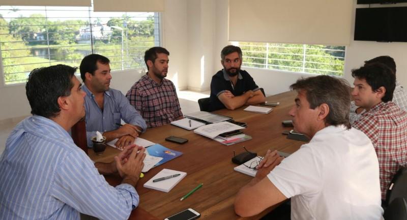 unto a su gabinete, Capitanich trazó los objetivos y acciones que se llevarán adelante durante el 2018