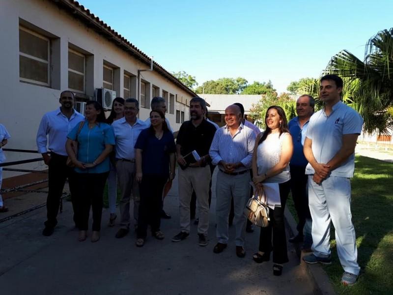 ZAPICO PUSO EN FUNCIONES AL NUEVO DIRECTOR DEL HOSPITAL DE GENERAL SAN MARTÍN