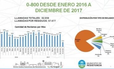 Recolección de residuos: el municipio redobla esfuerzos para seguir fortaleciendo el servicio en 2018