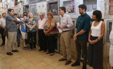 La ciudad rindió homenaje a Luis Geraldi