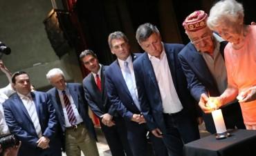 Capitanich destacó y agradeció la elección de Resistencia como sede del acto en Memoria de las Víctimas del Holocausto
