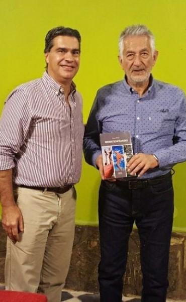 Capitanich se reunió con Alberto Rodríguez Saá, quien participará de los festejos por el 2 de Febrero