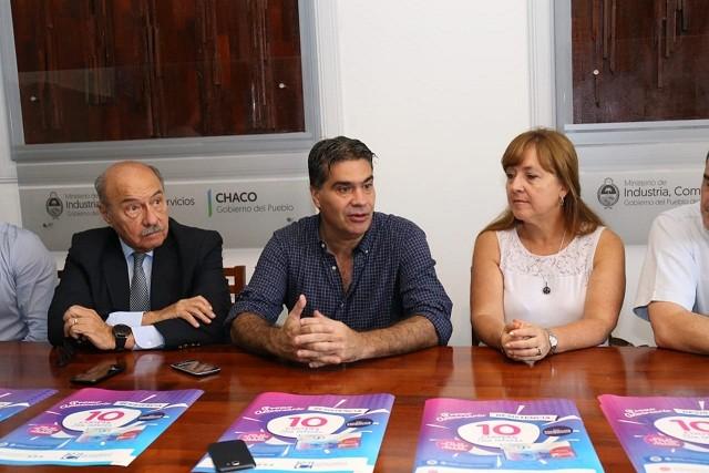 Capitanich acompañó lanzamiento de promoción de Tarjeta Tuya por el aniversario de Resistencia