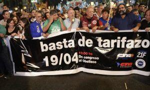 Marcha contra el tarifazo: definen detalles
