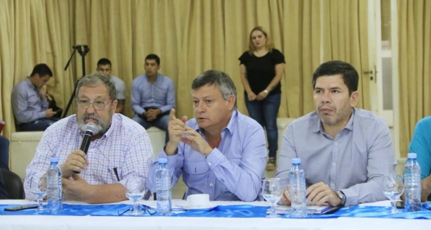 PEPPO JUNTO A EQUIPO TÉCNICO DEFINE OBRAS HÍDRICAS PRIORITARIAS PARA PRESENTAR A NACIÓN