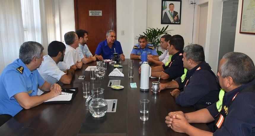 GOBIERNO Y MUNICIPIO DE RESISTENCIA TRABAJAN PARA FORTALECER LOS CONTROLES DE TRÁNSITO