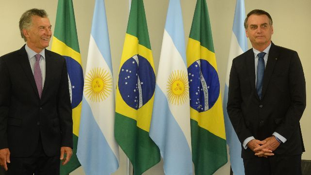 Mauricio Macri se reunió con su par de Brasil