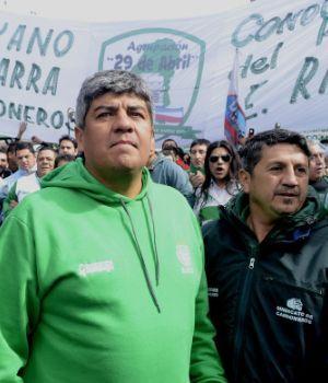 Pablo Moyano prometió más protestas