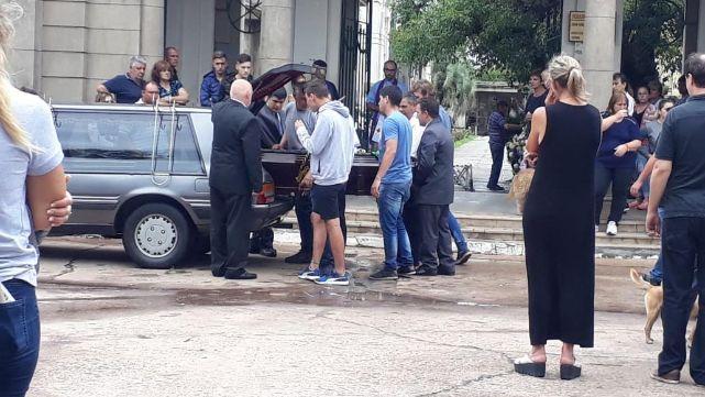 Último adiós a Agustina en Esperanza