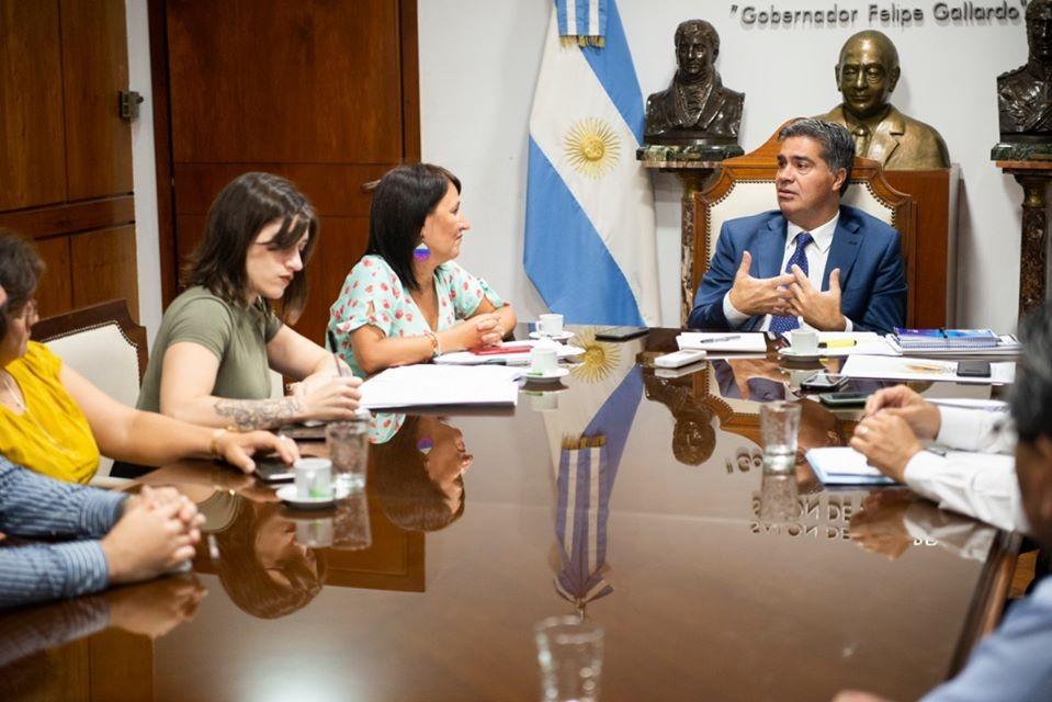 Capitanich se reunió esta mañana con las autioridades de la Secretaría de Derechos Humanos y Género