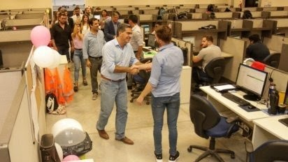 Capitanich visitó el Call Center de Sáenz Peña que genera 430 puestos de trabajo