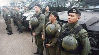 Oficializan las nuevas autoridades de Gendarmería, Prefectura, Policía Federal y PSA