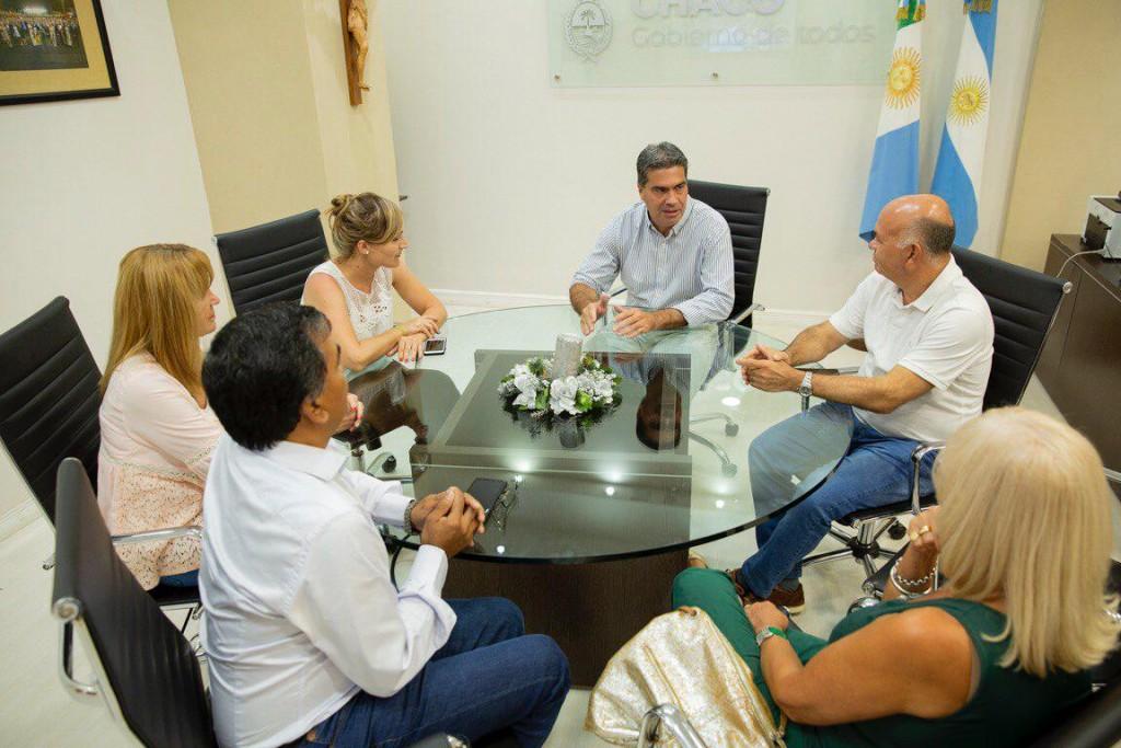 Capitanich recibió a Diputados y Diputadas Nacionales para avanzar en consensos con distintas fuerzas políticas