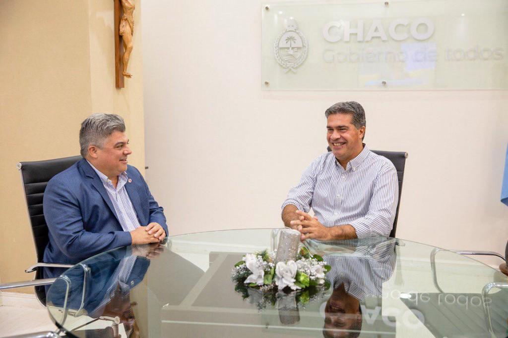 Capitanich recibió al Consul de Paraguay