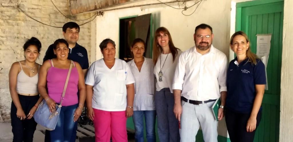 La Ministra de Salud recorrió hospitales y centros de salud en La Leonesa y Las Palmas