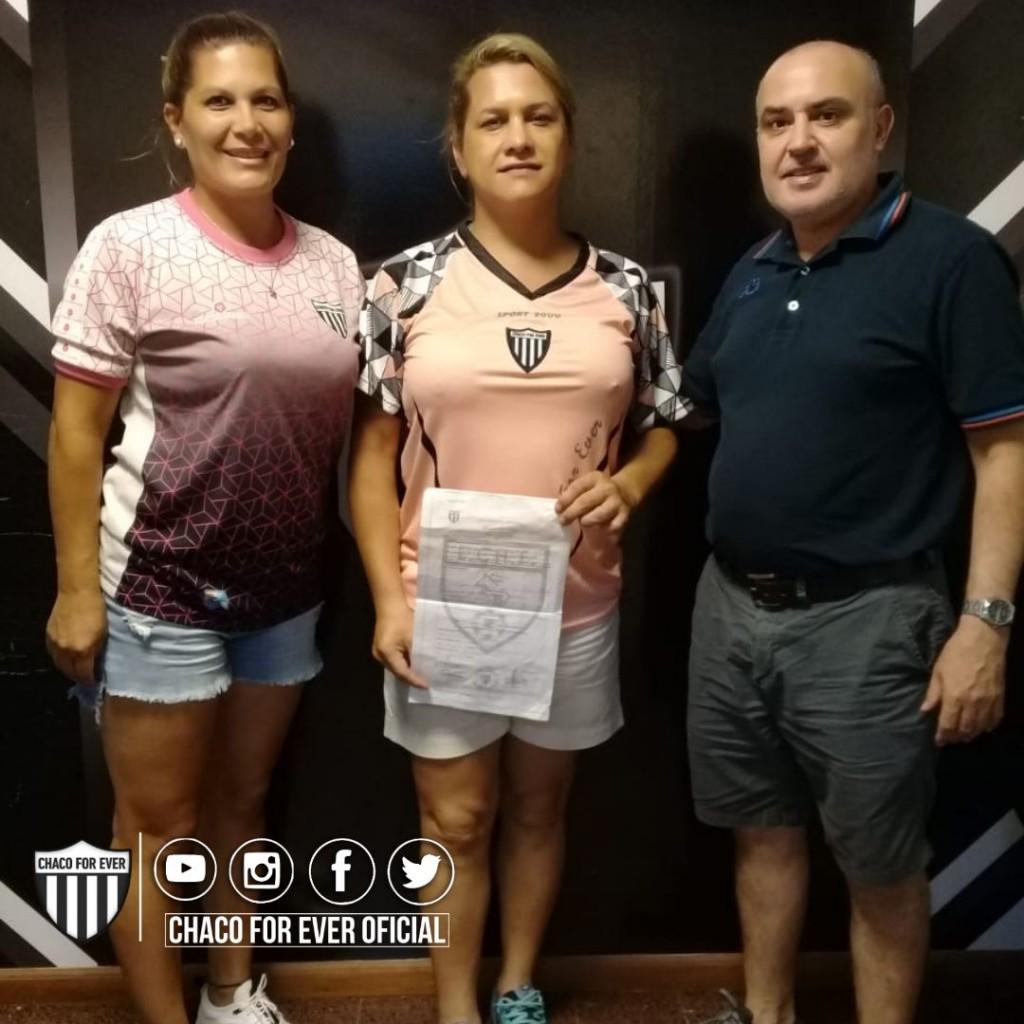 Chaco For Ever es el primer club que incorporó una futbolista Trasgénero
