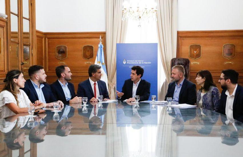 Capitanich y Wado De Pedro avanzaron en el financiamiento para el Puerto Las Palmas