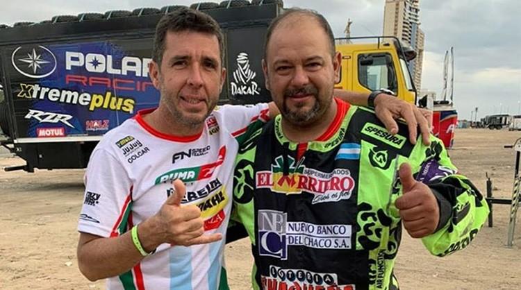 En la finalización del Dakar los chaqueños Verza y Silva lograron sus mejores marcas