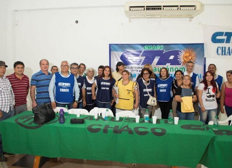 La CTA Autónoma Chaco se comprometió con el Acuerdo Social Impulsado por el Gobierno Nacional y provincial