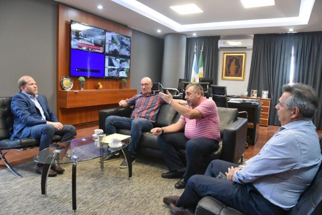 El Ministro de Gobierno recibió a miembros de la Comunidad Judía en vísperas de la Shoá