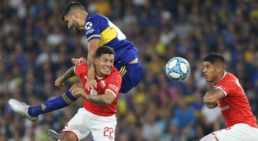 Boca e Independiente empataron sin goles en la Bombonera