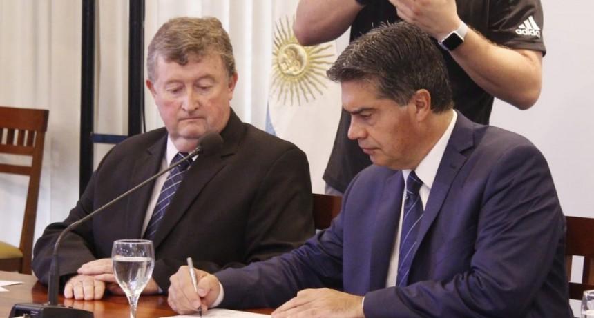 El Gobierno firmó un Compromismo Político, Económico, Social y Cultural con distintas Organizaciones el Instituciones provinciales