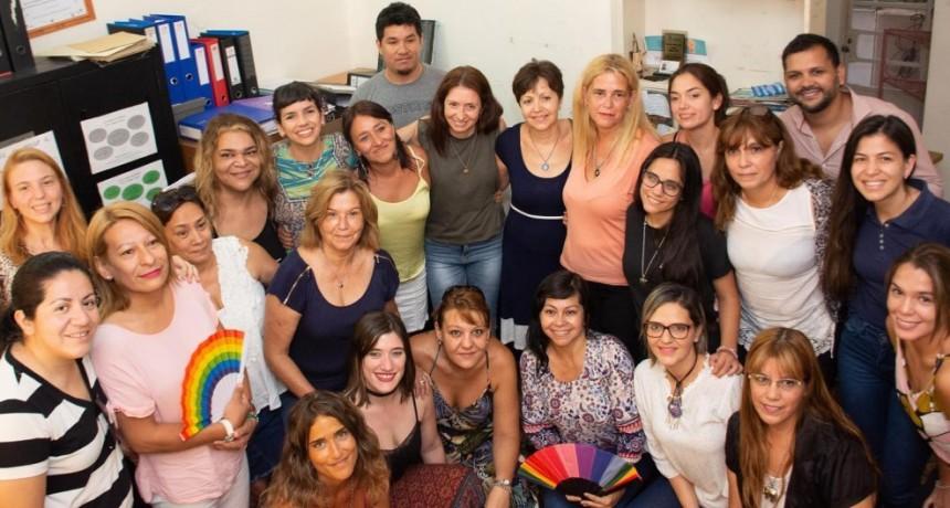 La Vicegobernadora visitó el Centro de Asistencia a las Víctimas de Violencia de Género