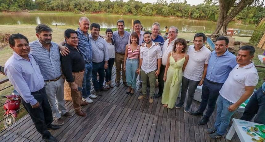 El Gobernador y la Vicegobernadora lanzaron la agenda de eventos 2020 en Villa Río Bermejito