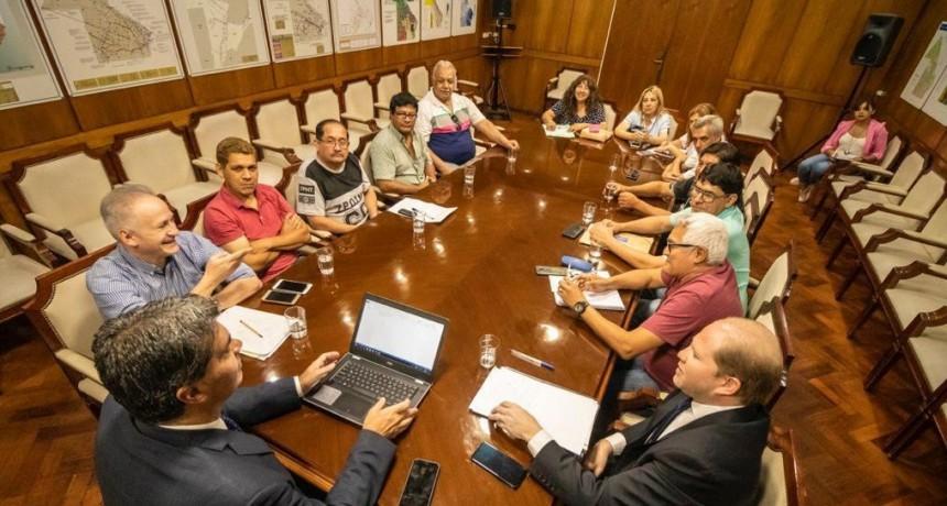 El Gobernador se reunió con los dirigentes gremiales nucleados en la CTA Autónoma