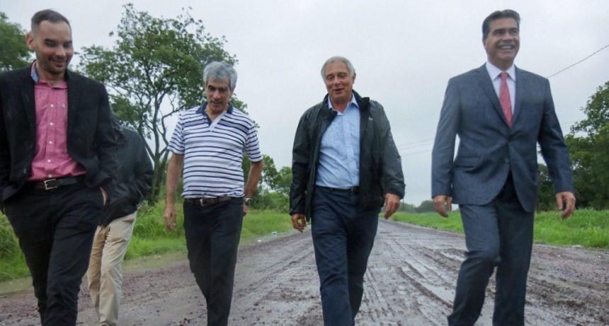 Capitanich anunció obras para la Ruta 13 y los Puertos de Las Palmas y Barranqueras