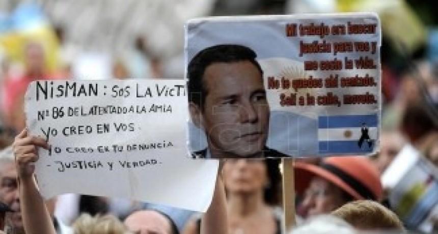Nisman: un acto de Juntos por el Cambio y familiares y la DAIA en La Tablada