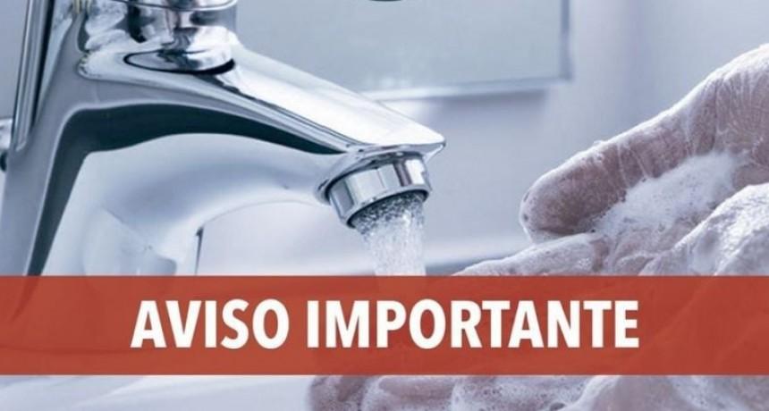 SAMEEP informa sobre una merma del servicio de agua en el Área Metropolitana
