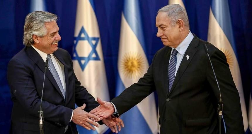Fernández en Israel: