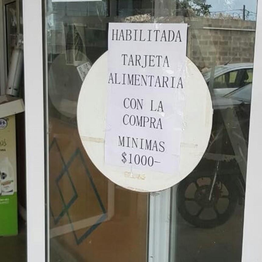 Tarjeta Alimentar: Suspenden a un Comercio de Resistencia por imponer un monto mínimo de compra de $1000