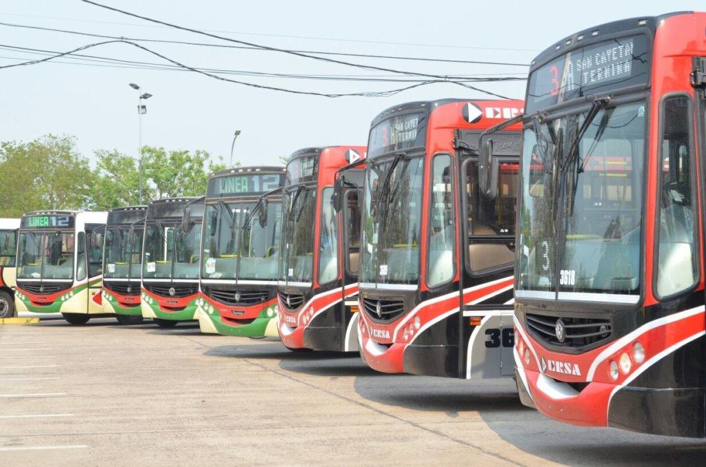 Gobierno informa nuevas disposiciones para el transporte público