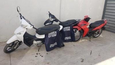Agentes esclarecieron dos causas e incautaron dos motos de dudosa procedencia