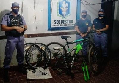 En rastrillajes dieron con dos bicicletas valuadas en mas de 100 mil pesos