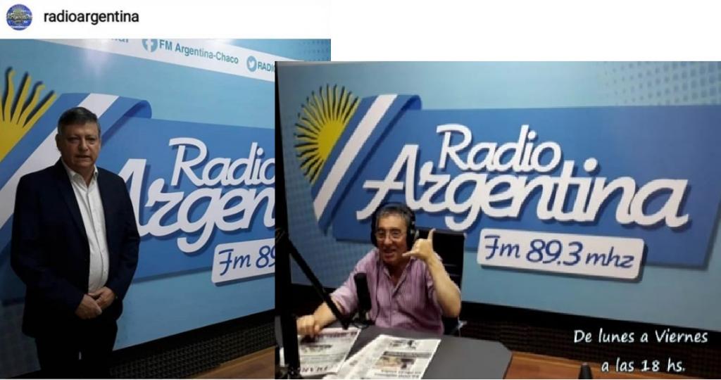 Embajador de Paraguay  Ing. Domingo Peppo en el Programa