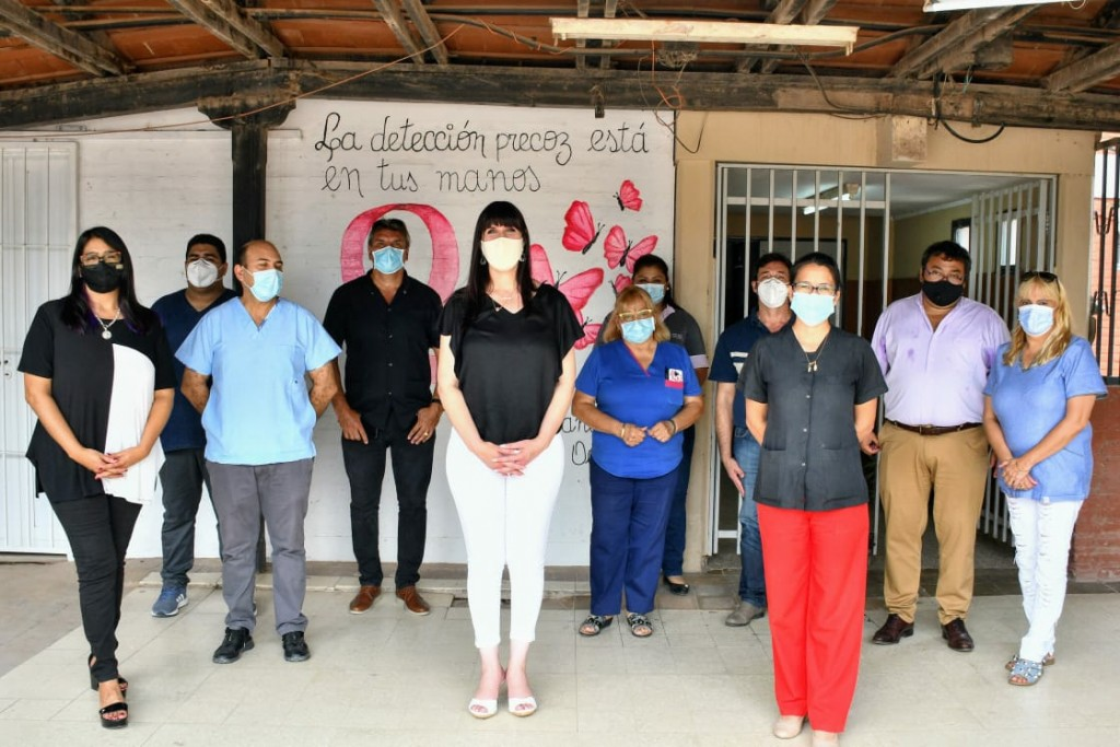 La ministra de salud acompañó la aplicación de la SPUTNIK V, y remarcó la labor de los trabajadores
