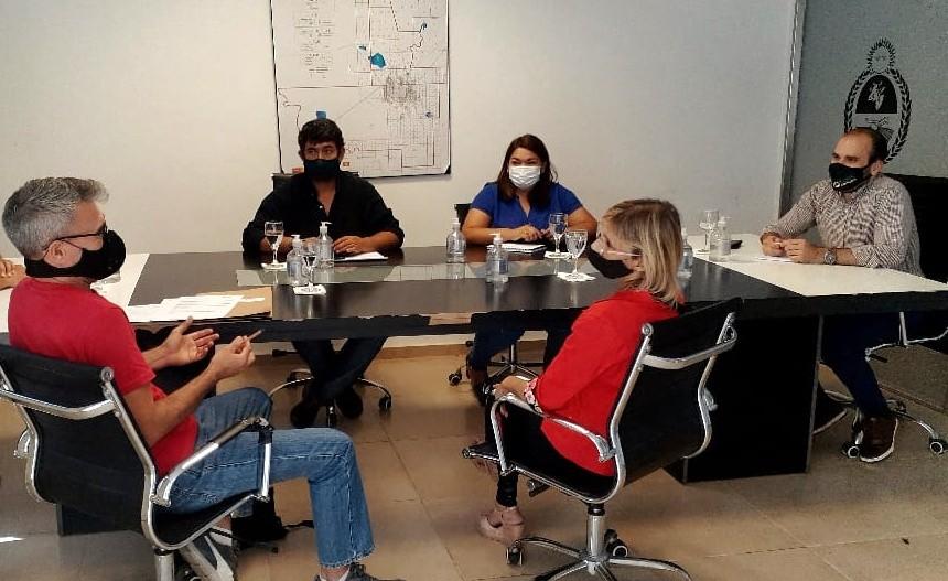 La provincia trabaja en la planificación y el crecimiento territorial de los municipios
