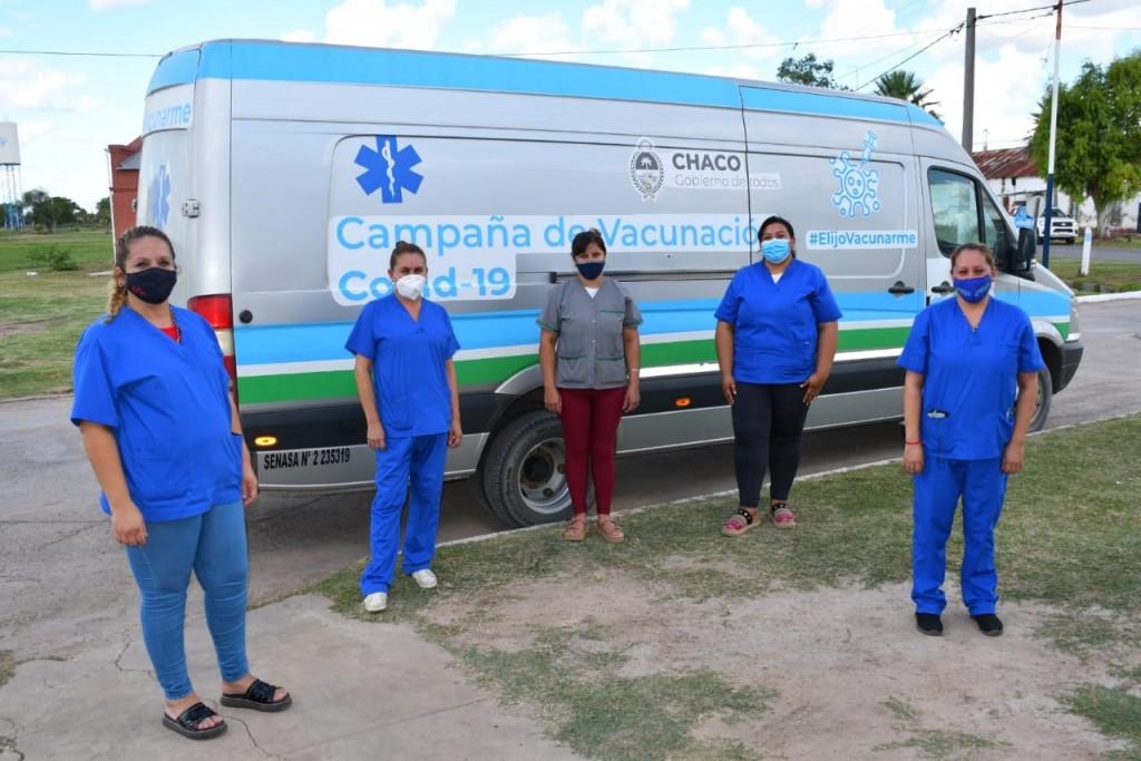La campaña de vacunación contra covid-19 ya alcanzó las 8 mil dosis en 66 localidades