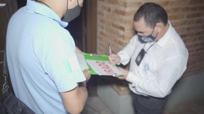 Durante el domingo a partir de las 19 hasta hoy a las 7 registraron más de 173 infractores por eventos clandestinos