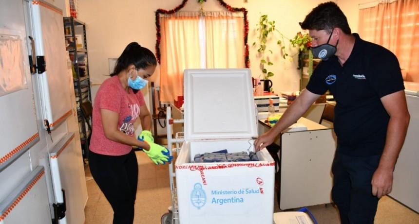 Los hospitales de Sáenz peña y Castelli recibieron el segundo lote de vacunas contra covid-19