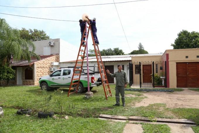 Capitanich participó del operativo integral realizado en el barrio Mujeres Argentinas