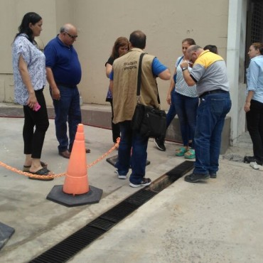 El municipio asistió en accidental derrame de gas oil