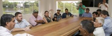 Capitanich acordó agenda de trabajo con comunidades aborígenes
