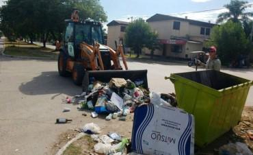 El Municipio concretó operativos de limpieza en la zona del ex Pediátrico y diferentes barriadas de la ciudad